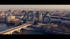 2016 géant en cadeaux sur la place Anatole France, aussi appelé Porte de Loire à Tours