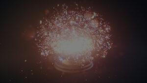Explosion d'une boule en verre - Vidéo voeux 2017