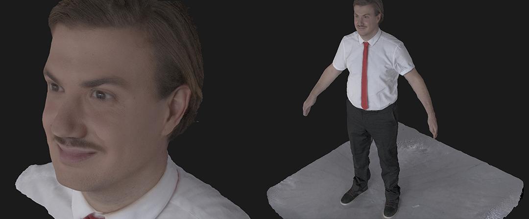 Le Youtuber Ludovik en photogrammétrie