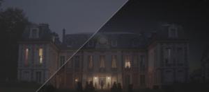 Le Roi Des Cons, court-métrage, hélicoptère, château, effets spéciaux, nuit, lumière