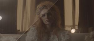 Le Roi Des Cons, court-métrage, Alisson Wheeler, robe de mariée, couronne, VFX, effets spéciaux