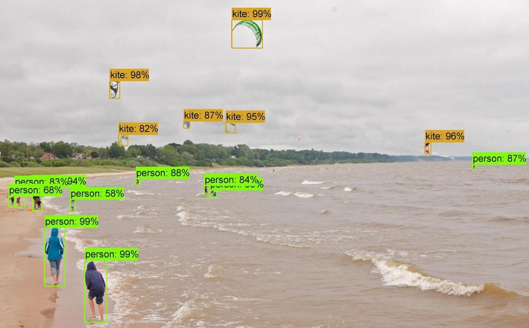 Machine Learning fond vert