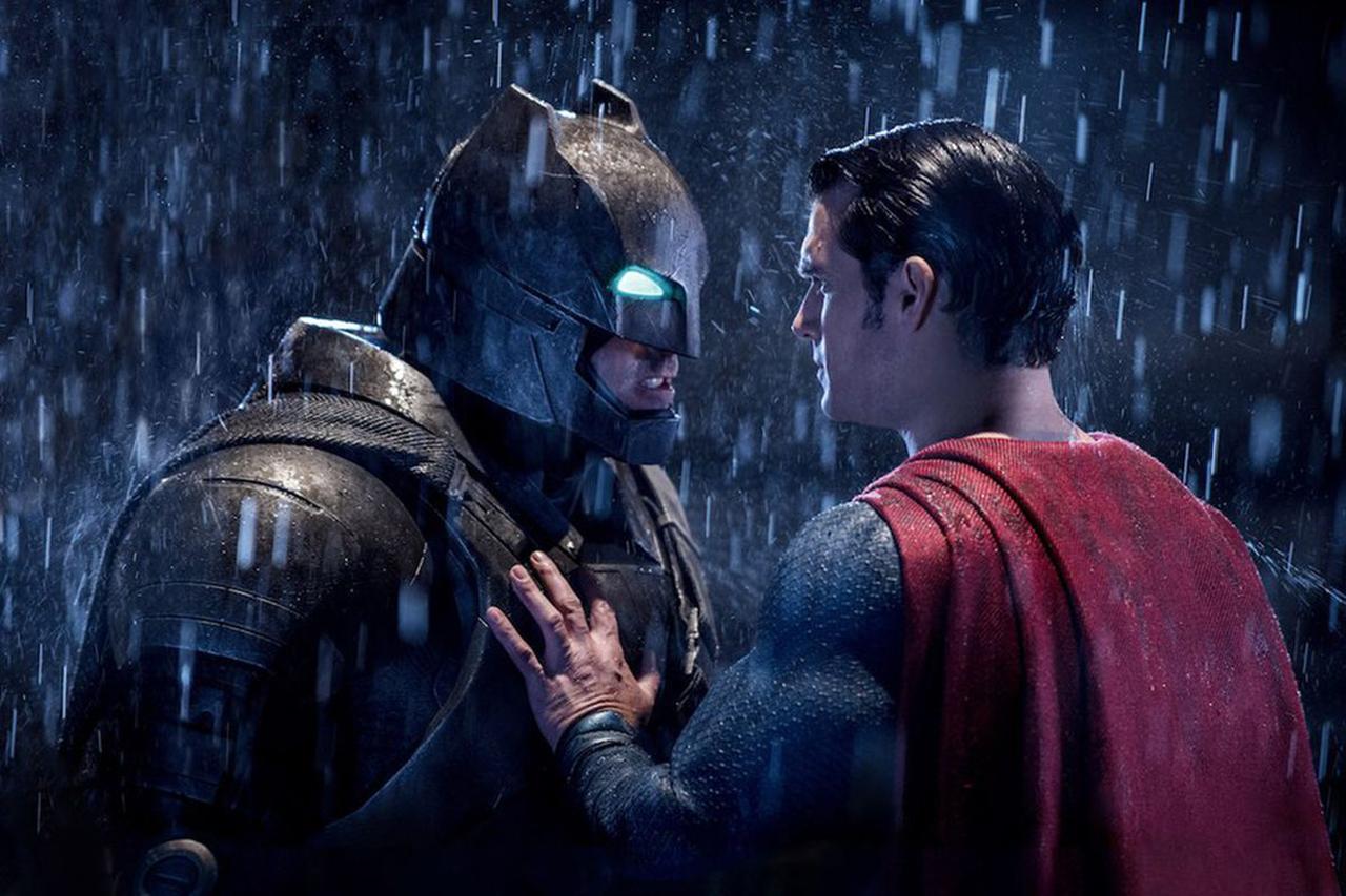 Ambiance visuelle du film Batman versus Superman