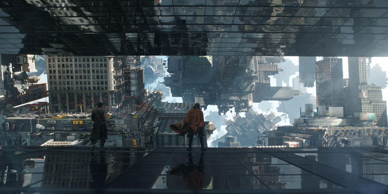 Les effets spéciaux dans Doctor Strange