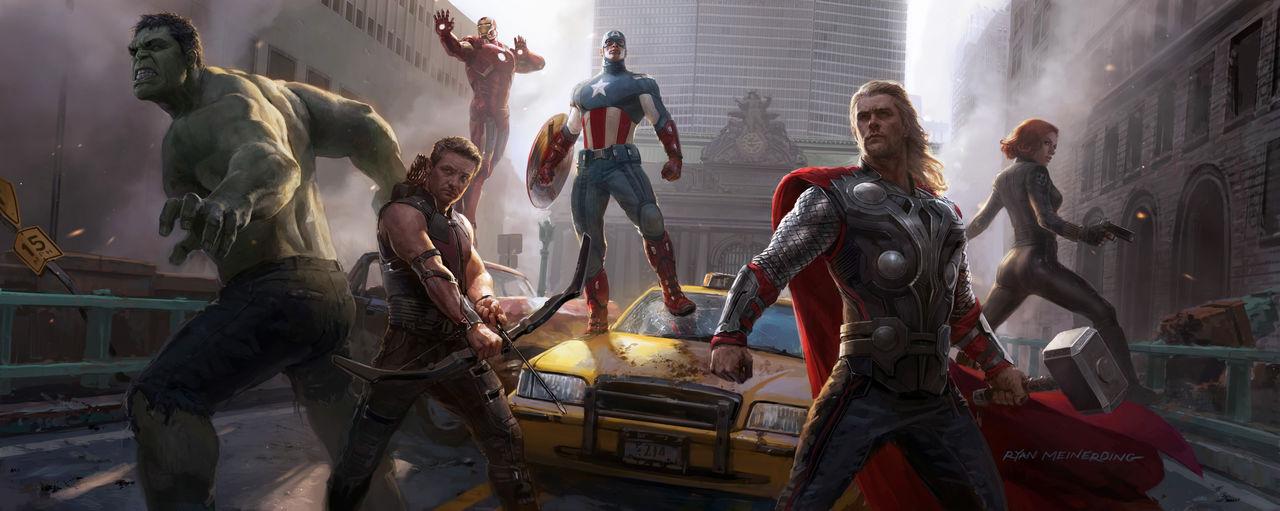 Concept-art Avengers