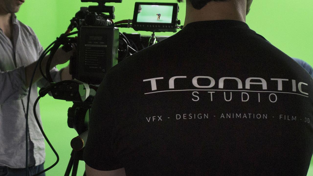 Superviseur VFX sur un tournage fond vert