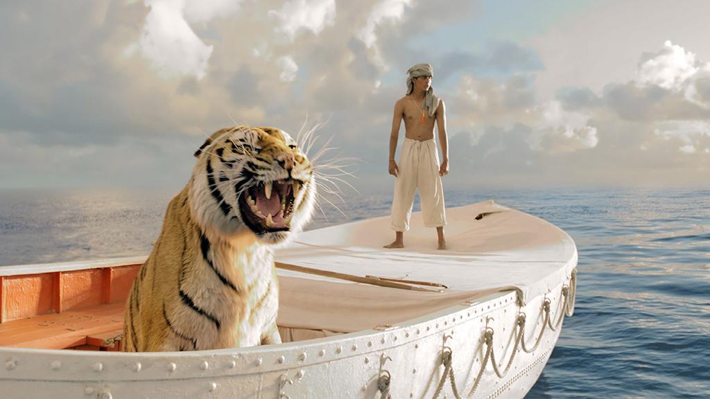 Visuel tiré du film Odyssée de Pi