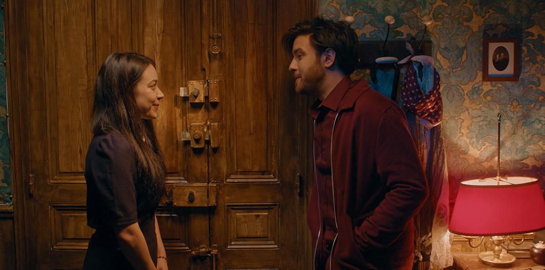 Emmy et Léo dans Le Petit Monstre