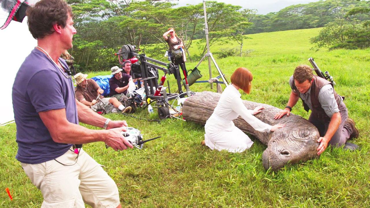 Animatronique sur Jurassic World