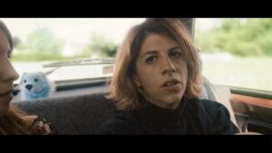 Juliette Tresanini dans une voiture