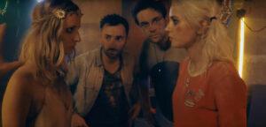 Scène provenant de la web série Deadfloor - Antoine Daniel - Clara Doxal - Julien Josselin - Tiphaine Daviot