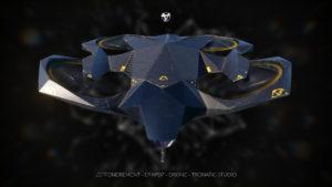 """VFX drone pour """"effondrement"""" série CANAL+"""
