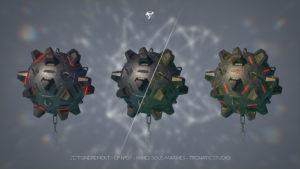 """VFX 3 mines sous marine pour """"effondrement"""" série CANAL+"""