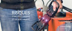 Eaxtron connecteur batterie risques arcs électriques et surchauffe