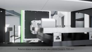 Machine Engineering Data palette étaux pouvant brider pièces jusqu'à 700 mm
