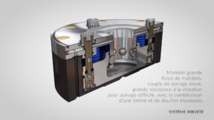 Engineering Data Easy Lock vue en éclaté - Animation 3D