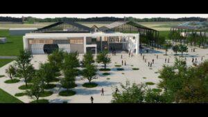 Visite virtuelle 3D photoréaliste : Stand de Tir Chateauroux   Tronatic