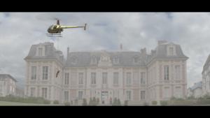 Le Roi Des Cons, court-métrage, hélicoptère, château