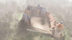 Reproduction 3D du château de Bannegon