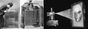 Le kinetoscope de projection et la lanterne magique