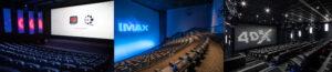IMAX, ICE, 4DX, kézako ?