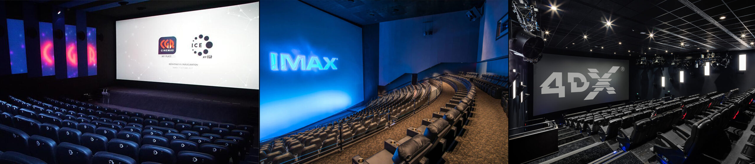 IMAX, ICE, 4DX, kézako ?