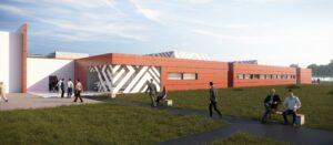 AGEN - Stand de tir - Visuels d'architecture 3D