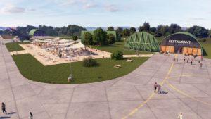 Aéroport de Tours 3D visuels d'architecture 3D photoréalistes - CGI - Archviz