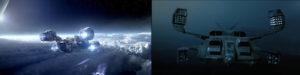 Prometheus et Alien, vaisseaux spatiaux - design