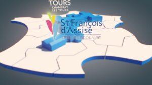 Image animations 3D pour vidéo Saint François D'Assise