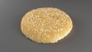Scan 3D d'un pain à hamburger pour vidéo Life Of Whooper - Réalisé par Social Media Family et Tronatic Studio